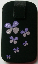 Pouzdro FRESH M Butterfly violet (115x65x10mm)